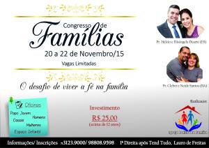 Congresso de Famílias 2015